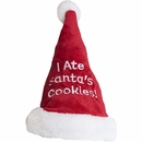 "Outward Hound ""I Ate Santa's Cookies!"" Santa Hat - Large"