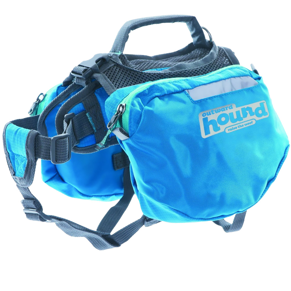 Outward Hound Quick Release Dog Backpack Blue - Medium