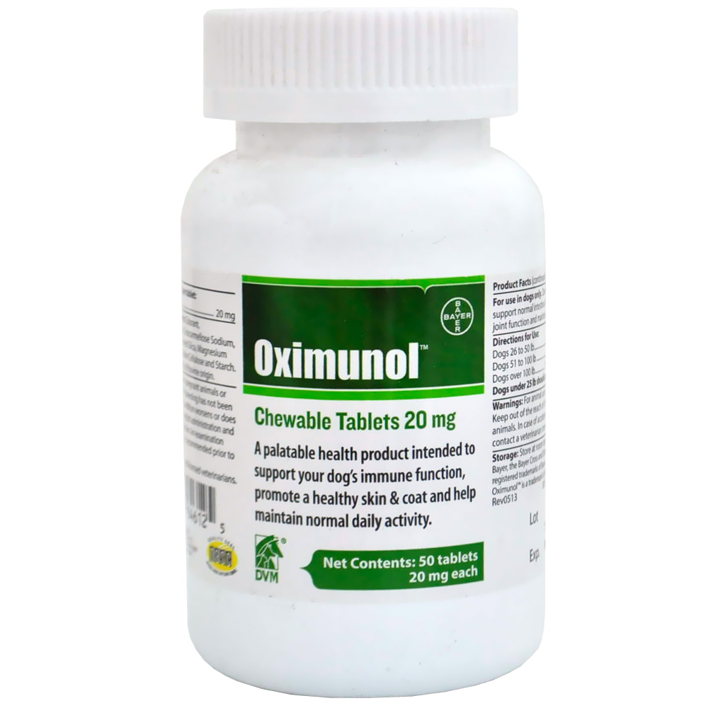 Oximunol Chewable Tablets 20 mg (50 count)