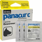 Panacur C Canine Dewormer (3 x 1-gram packets treats 10 lbs.)
