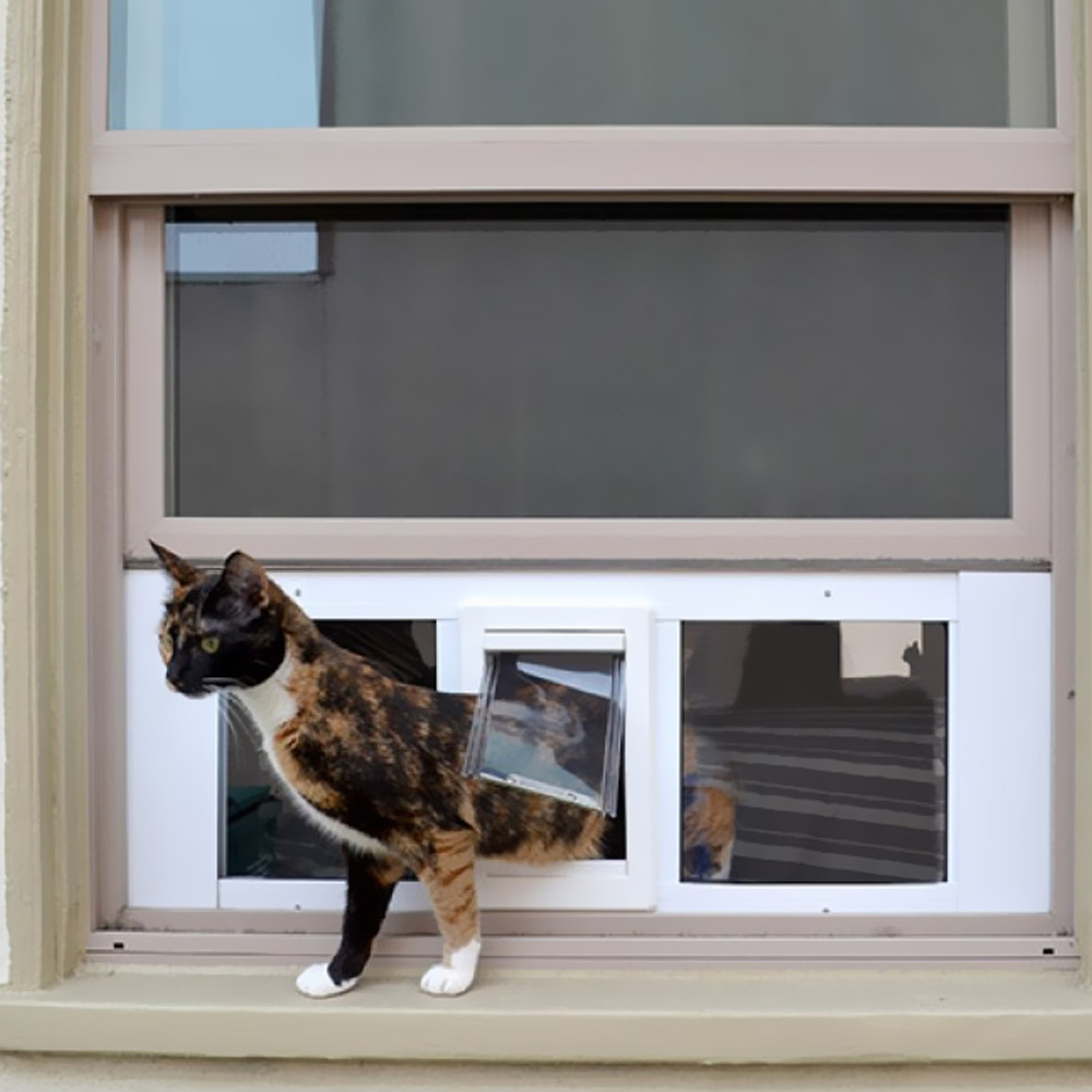 larger colour view pet good glass door window that any finally a image in doors all tek fitting cat looks