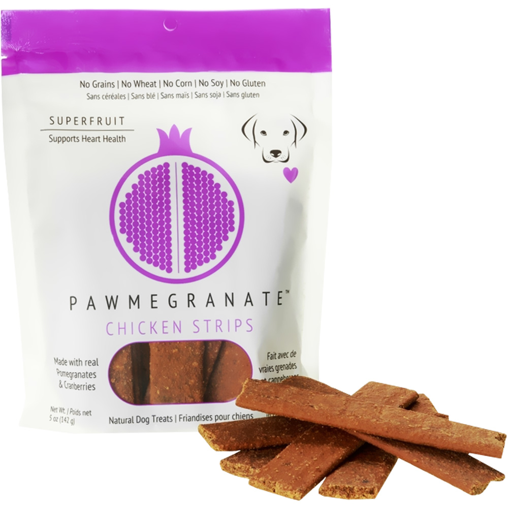 Pawmegranate Chicken Strips for Dogs (5 oz)