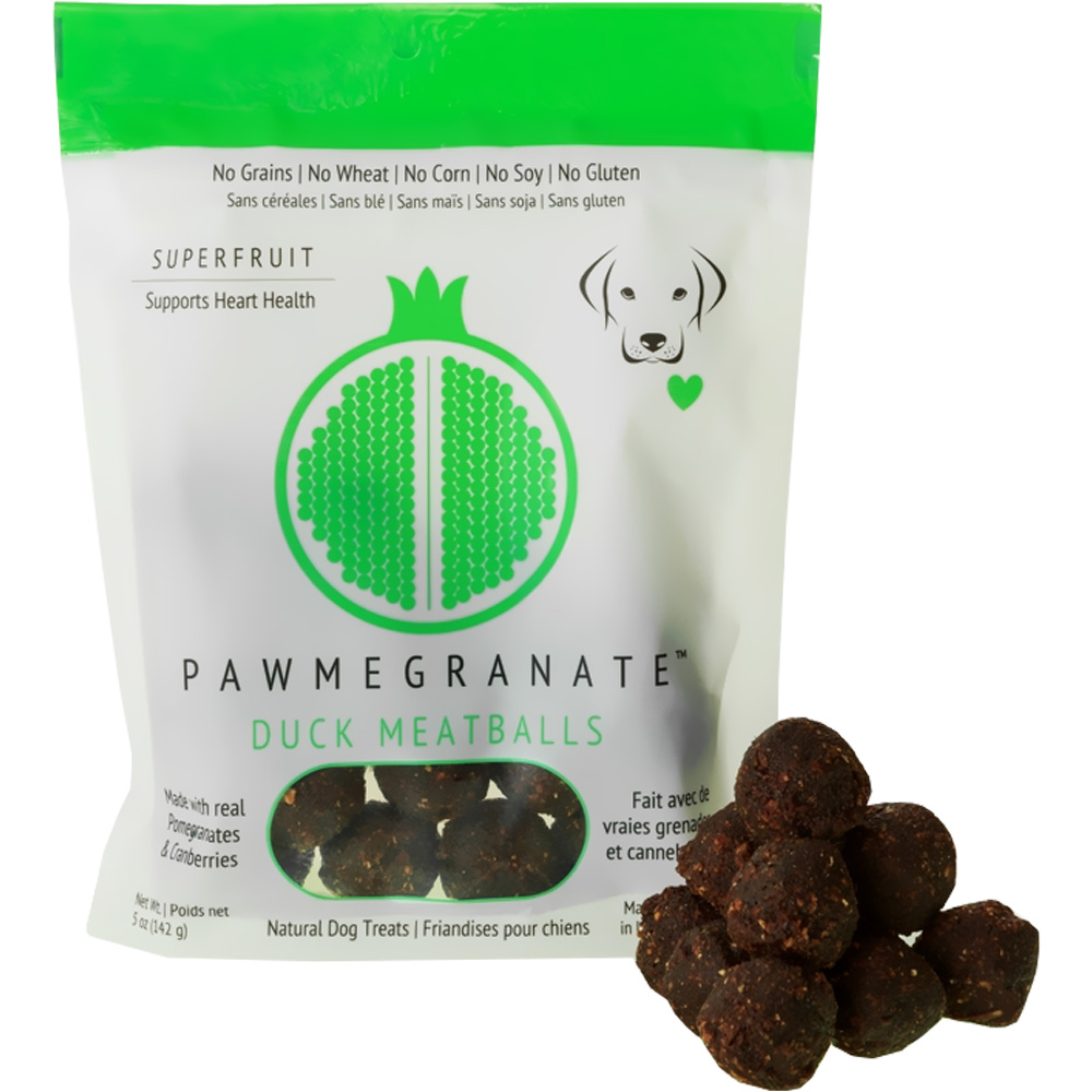 Pawmegranate Duck Meatballs for Dogs (5 oz)