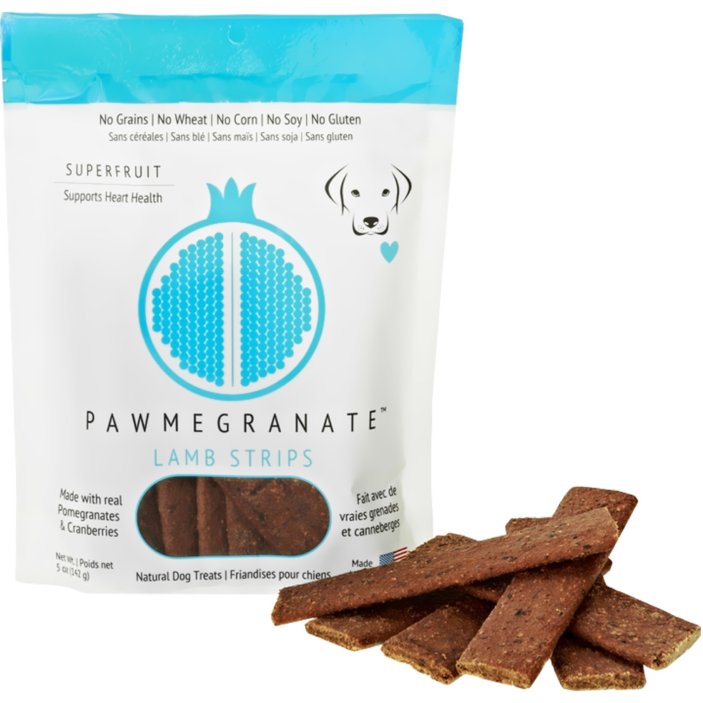 Pawmegranate Lamb Strips for Dogs (5 oz)