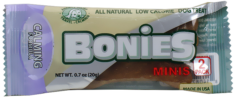 PENNY SAMPLE BONIES Natural Calming Formula MINIS 2 BONE PACK (0.7 oz)