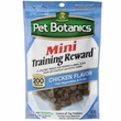 Pet Botanics Mini Training Reward - Chicken (4 oz)