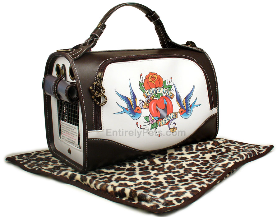 Pet Flys Spring Puppy Love Carrier - SMALL