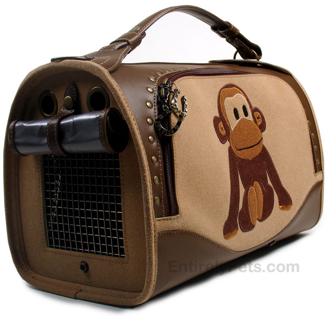 PET FLYS Uncle Monkey Pet Carrier SMALL