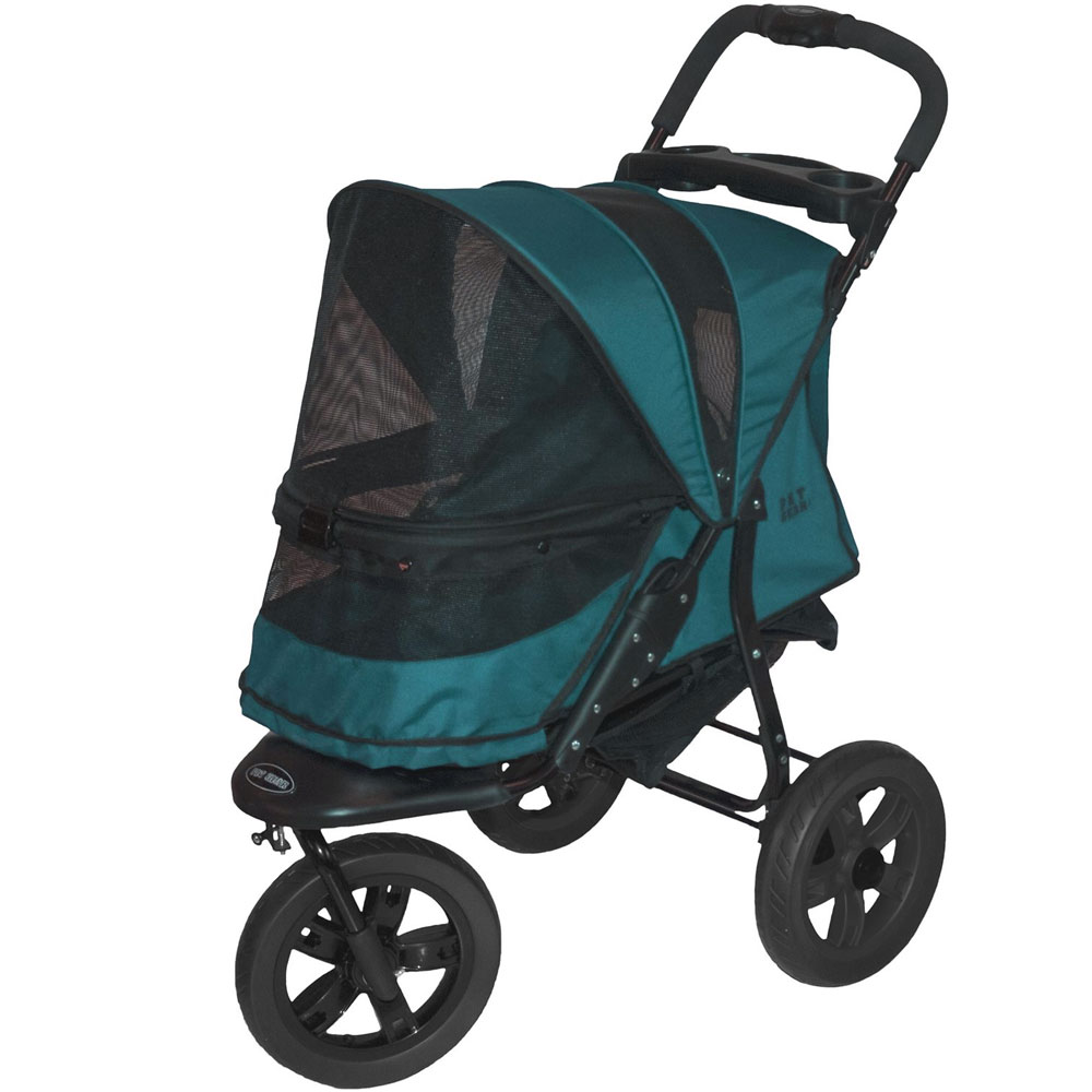 Pet Gear AT3 No-Zip Pet Stroller - Forest Green