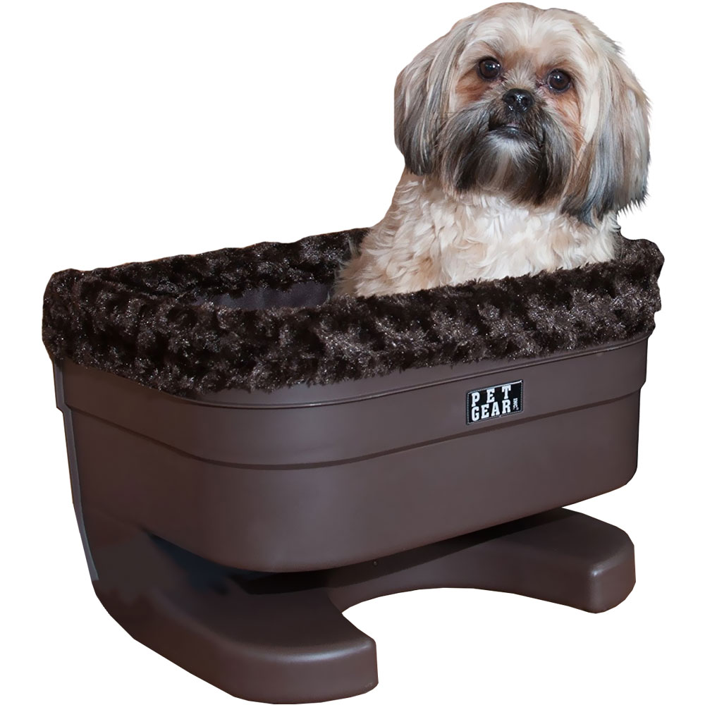 Pet Gear Bucket Seat Booster With Chocolate Insert  - 17""