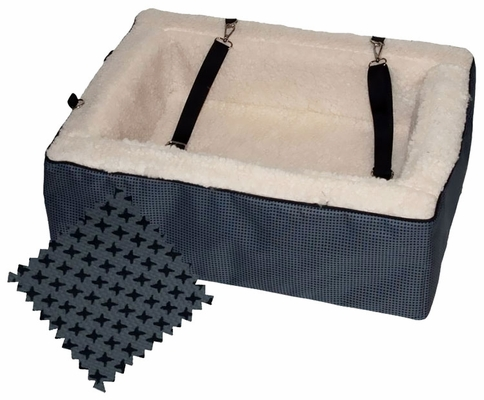 "Pet Gear Designer Booster Seat 18"" - Slate"