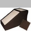 Pet Gear Designer Stramp with Removable Cover - Chocolate