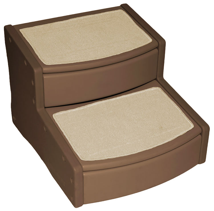 Pet Gear Easy Steps ll - Extra Wide - Chocolate