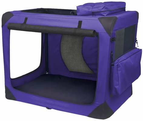 """Pet Gear Generation II Deluxe Portable Soft Crate 30"""" - Lavender"""