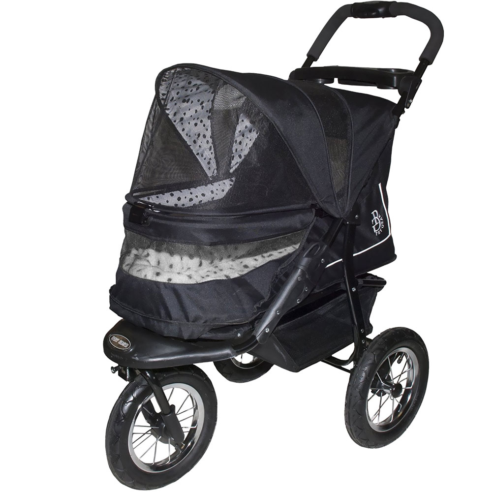 Pet Gear NV No-Zip Pet Stroller - Dalmatian