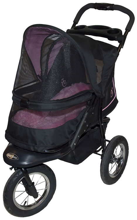 Pet Gear NV Pet Stroller - Rose