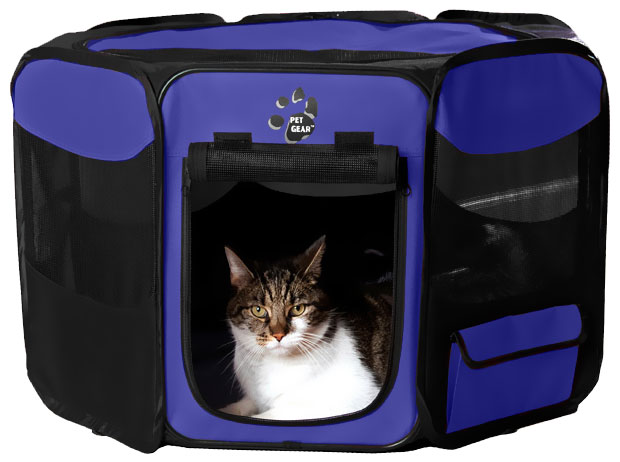 "Pet Gear Octagon Pet Pen With Removable Top 29"" - Lavender"