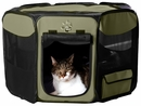 "Pet Gear Octagon Pet Pen With Removable Top 29"" - Sage"