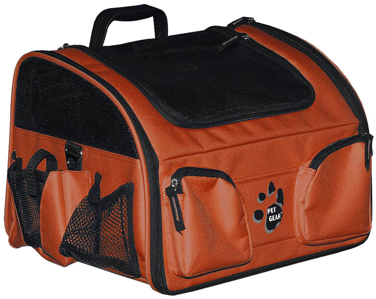 "Pet Gear Pet Bike Basket 3-in-1 14"" - Copper"