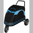 Pet Gear Roadster Pet Stroller - Black/Blue