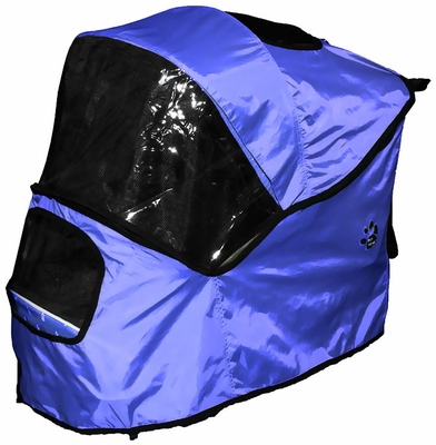 Pet Gear Weather Cover for Happy Trails Stroller - Cobalt Blue