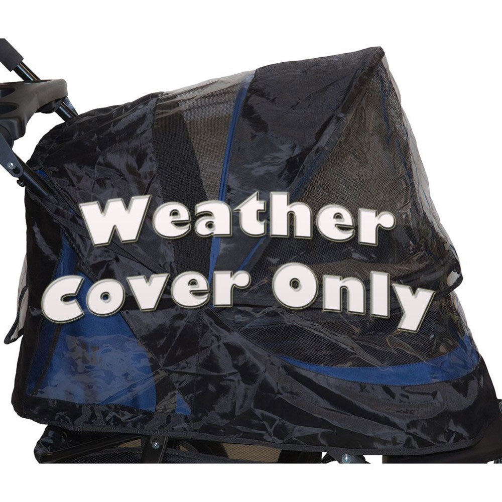 Pet Gear Weather Cover for No-Zip Jogger and AT3 Pet Stroller