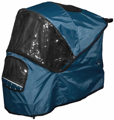 Pet Gear Weather Cover for Special Edition Pet Stroller - Blueberry