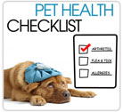Pet Health Checklist