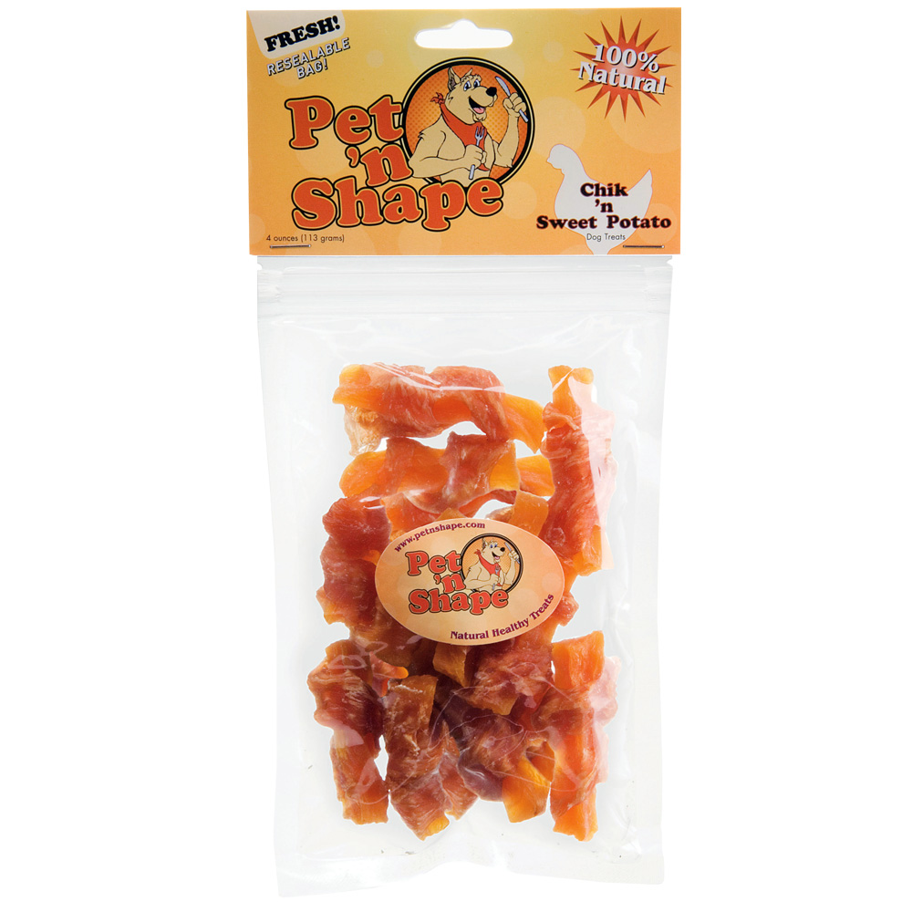 Pet 'n Shape Chik 'n Sweet Potato - 4 oz