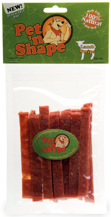 Pet 'N Shape Lamb Strips