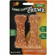 "Pet 'N Shape Long Lasting Chewz 4"" Bone (2 pk)"