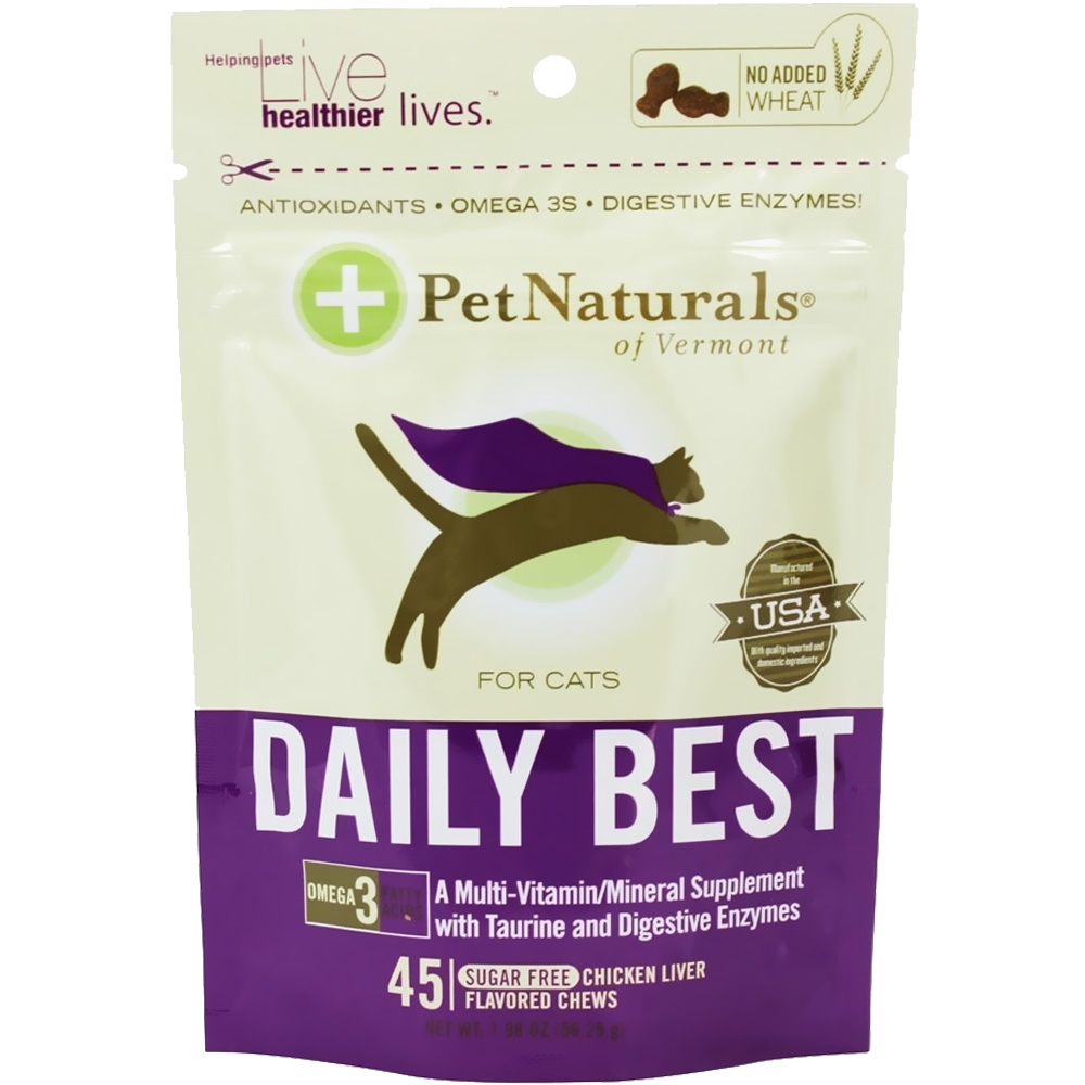 Pet Naturals Daily Best Chews for Cats (45 count)