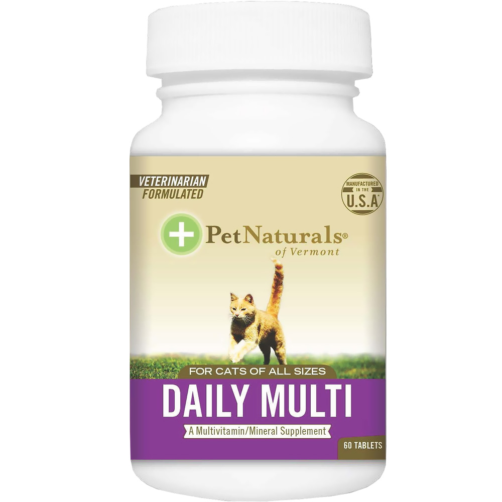 Pet Naturals Daily Multi for Cats (60 tablets)