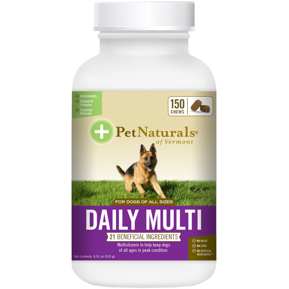 Pet Naturals Daily Multi for Dogs (150 chews)