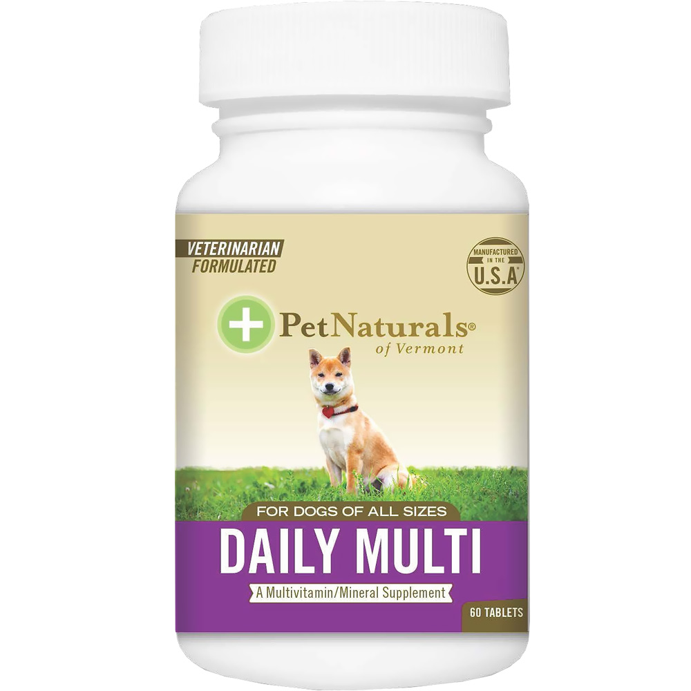 Pet Naturals Daily Multi for Dogs (60 tablets)