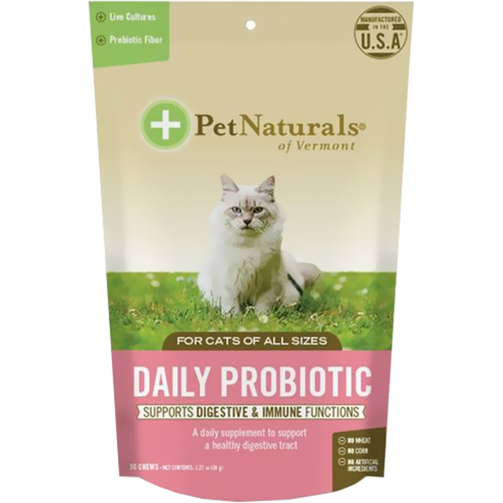 Pet Naturals Daily Probiotic for Cats (30 chews)