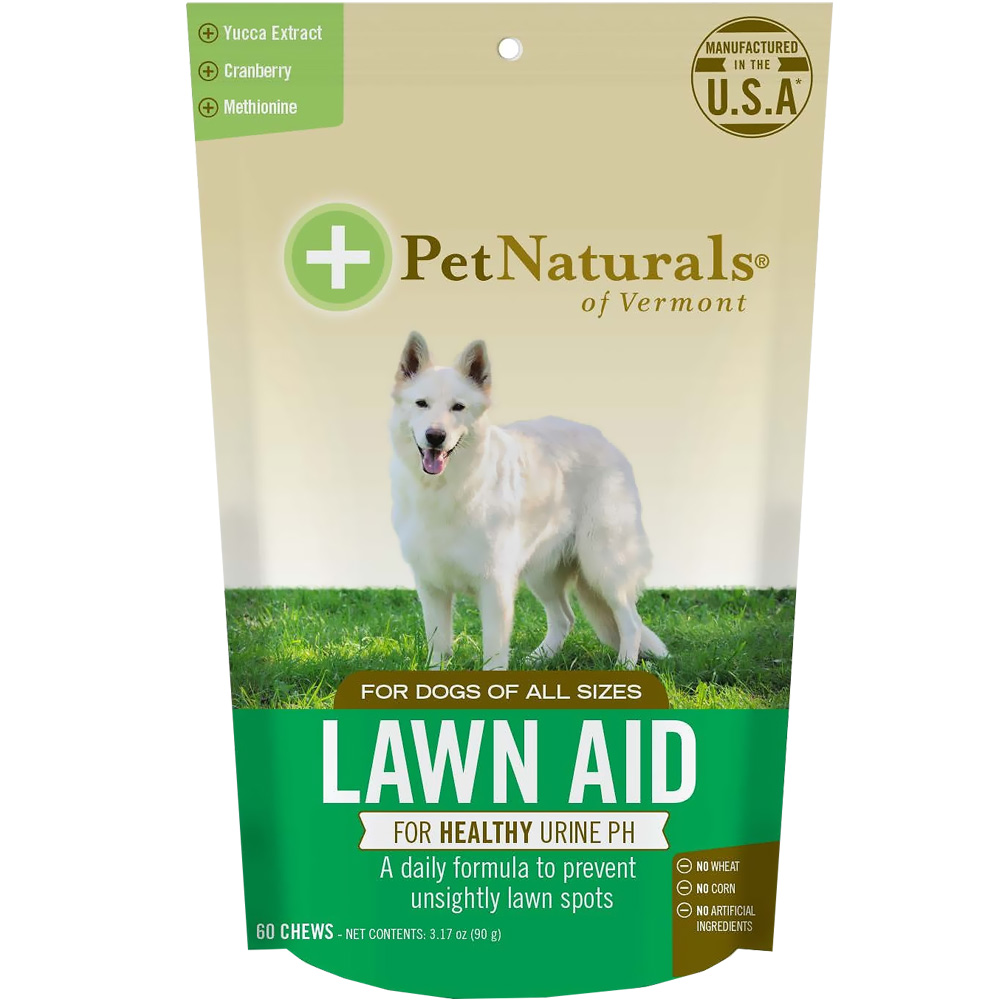 Pet Naturals Lawn Aid for Dogs (60 chews)
