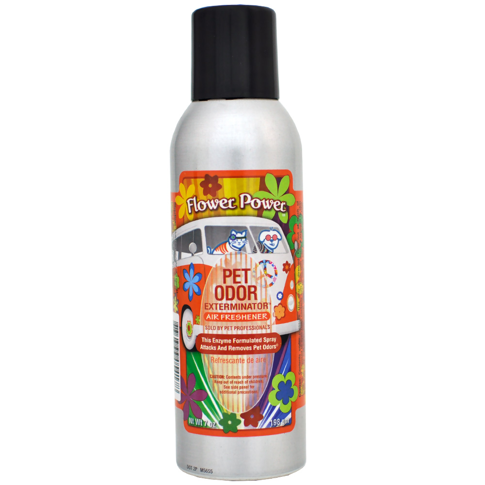 Pet Odor Exterminator - Flower Power Spray (7 oz)