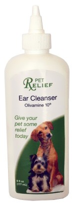 Pet Relief Ear Cleanser