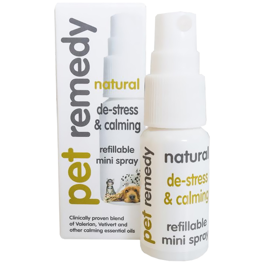 Pet Remedy De-Stress & Calming Refillable Mini Spray (15mL)