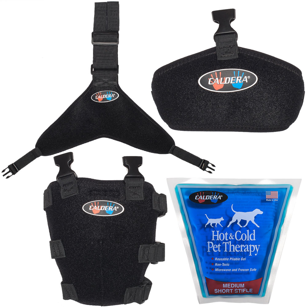 Pet Therapy Wrap with Therapy Gel - Short Stifle (Medium)