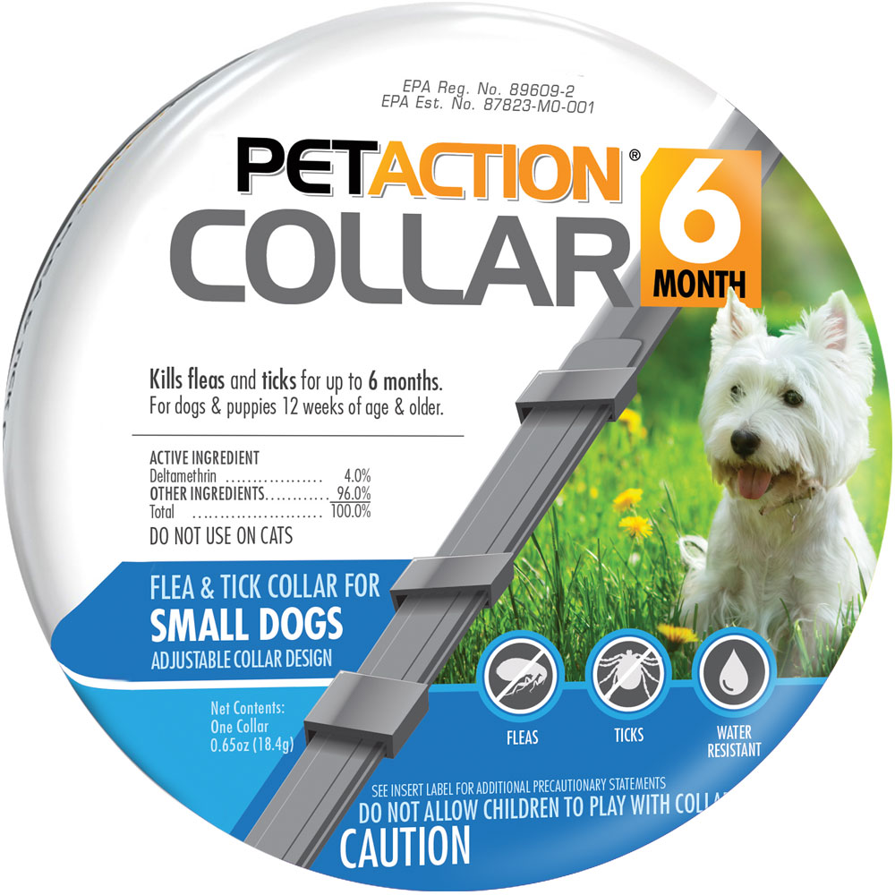 PetAction Flea & Tick Collar for Small Dogs