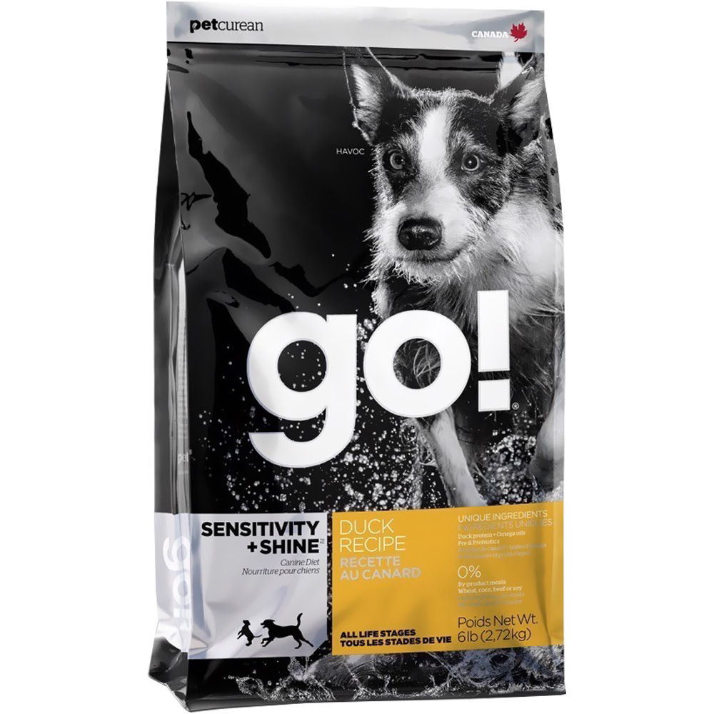 Petcurean Go! Sensitivity + Shine Dog Food - Duck (6 lb)