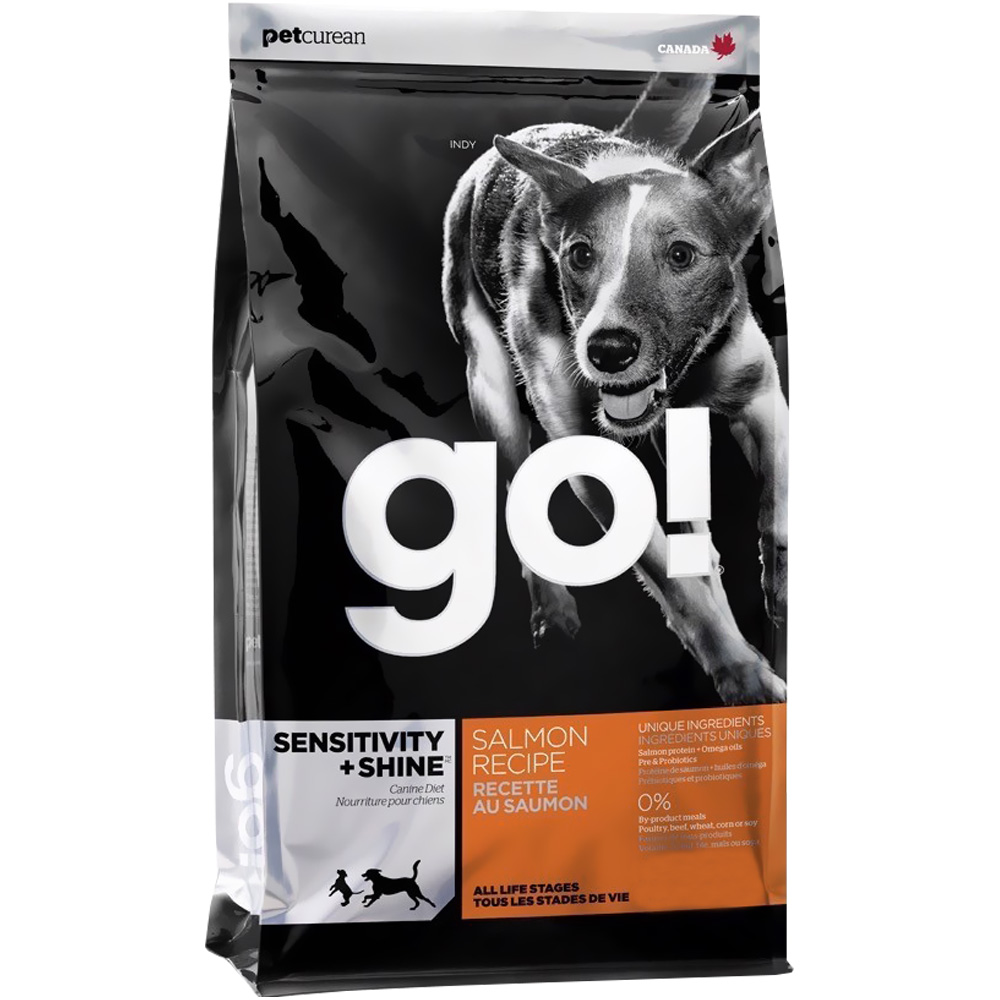 Petcurean Go! Sensitivity + Shine Dog Food - Salmon (25 lb)