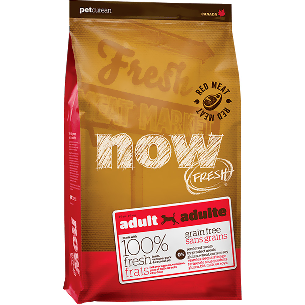 Petcurean Now Fresh Adult Dog Food - Red Meat (25 lb)