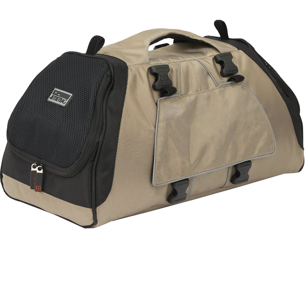 Petego Jet Set Pet Carrier with Forma Frame - Beige (Medium)
