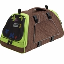 Petego Jet Set Pet Carrier with Forma Frame - Green/Brown (Medium)