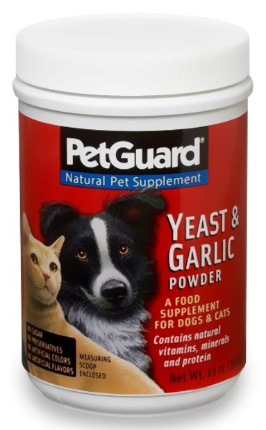 Garlic supplements for dogs