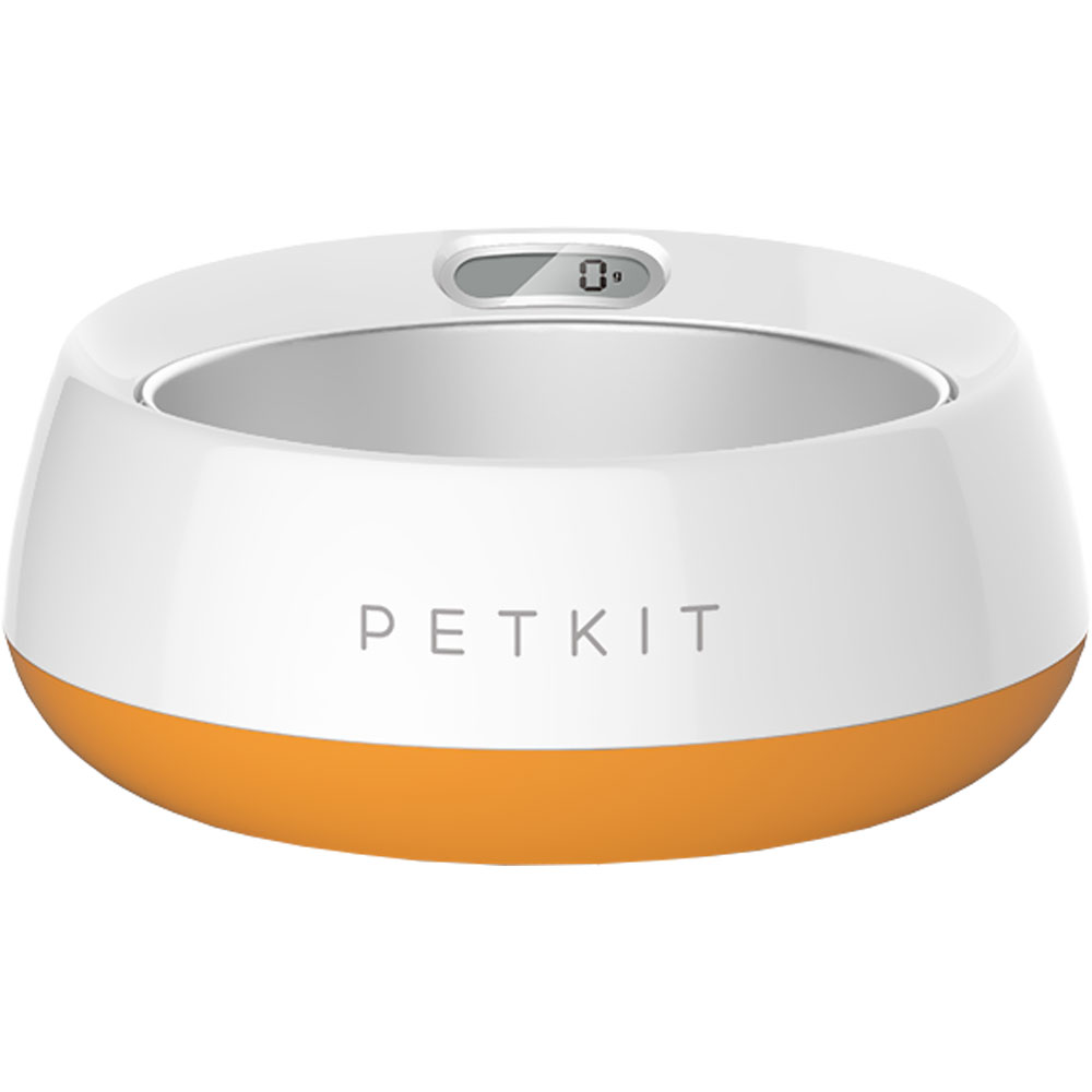 PETKIT Fresh Metal Large Machine Washable Smart Digital Feeding Pet Bowl - Orange