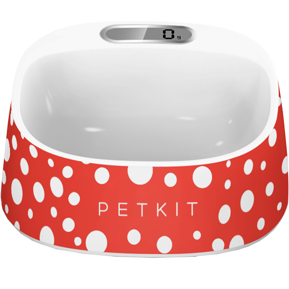 PETKIT FRESH Smart Digital Feeding Pet Bowl - Red/White
